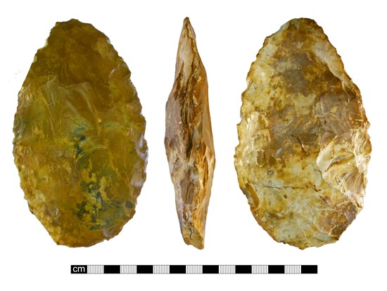 Photograph of hand axe