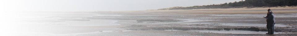 Archaeological recording on Holme beach